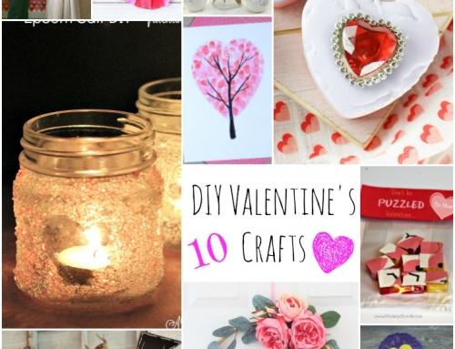 10 DIY Valentine Day Crafts