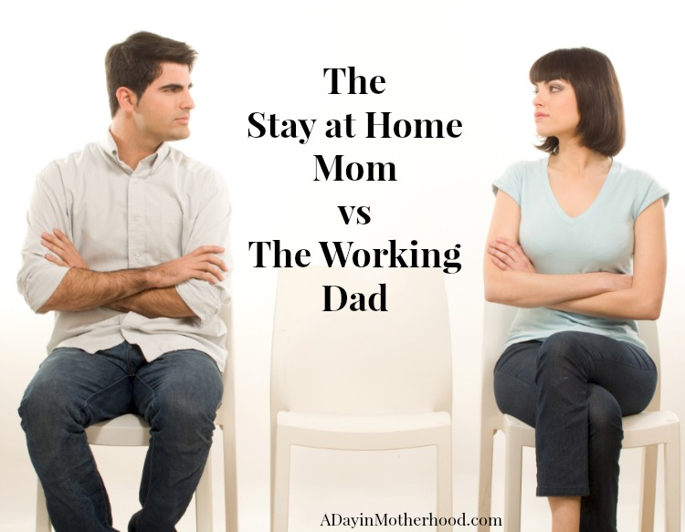 working moms vs stay at home moms essay Working women vs stay at home mom your child has just been born, and you as a mother or father are torn between going back to work, or taking a maternity leave to be with your baby in its first months of life.