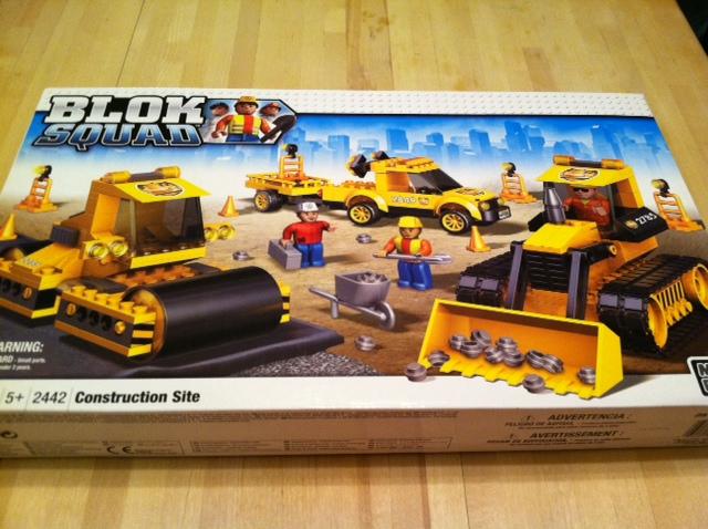 Construction Site Toys For Boys : Blok squad construction site set by mega bloks review