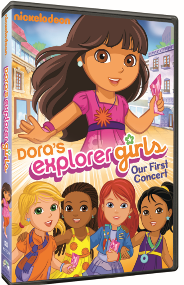 Dora is All Grown Up in 'Dora's Explorer Girls': DVD Review