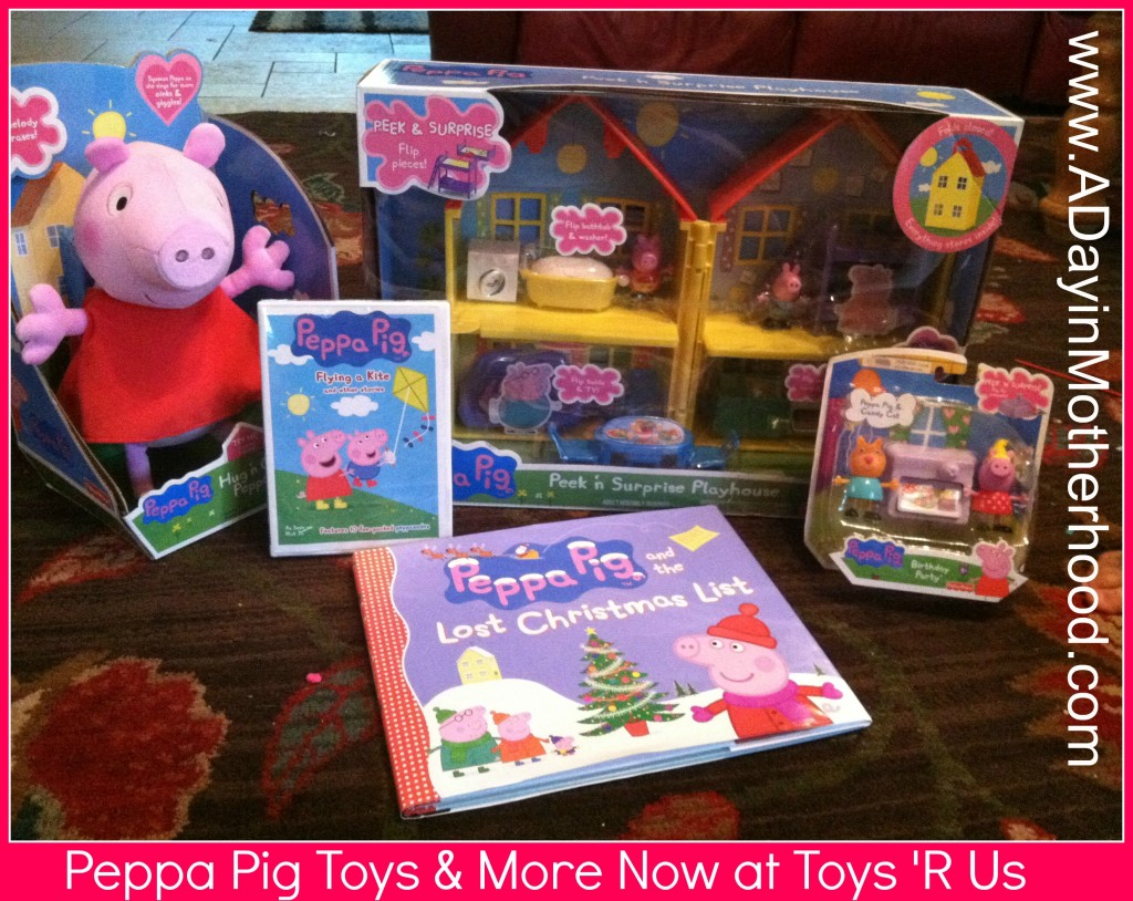 Toys R Us Dvd : Peppa pig toys books dvd s now at r us review