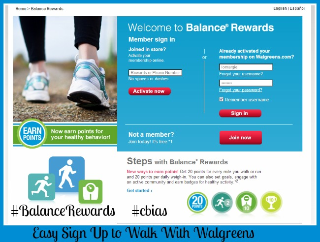 Walk With Walgreen & Save Money by Being Healthier + An