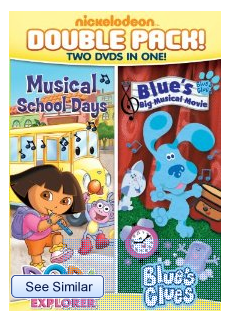 Dora & Blue's Clues Double Feature: Dora Musical School Days & Blue's Big Musical Movie Review & Giveaway