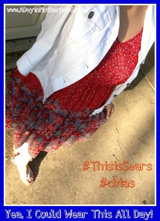 A Half Selfie of my in Style! #ThisisSears #cbias #shop