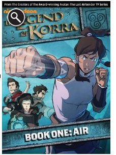 The Legend of Korra - Book One: Air  Review & Giveaway