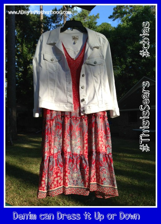 Fun with Denim and searsStyle for the 4th #ThisisSears #cbias #shop