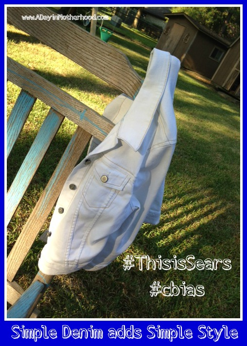 Sears Denim Keeps you in searsStyle #ThisisSears #cbias #shop