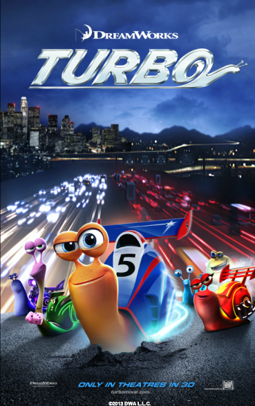 TURBO is in Theaters Now