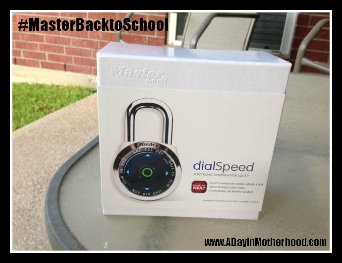 Master Lock dialSpeed Electronic Locks #MasterBacktoSchool