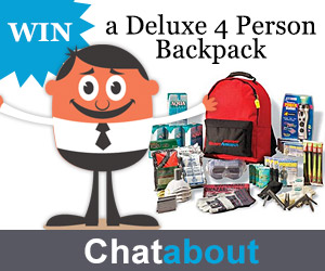 WIN a 4 Person Backpack