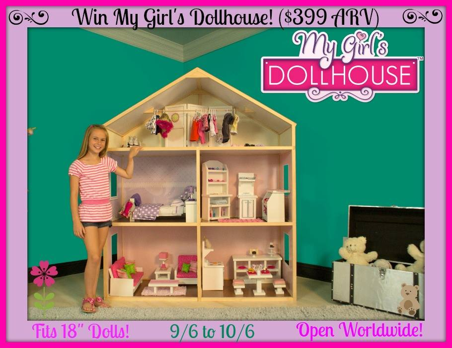 gifts for 8 year old girls my girls dollhouse giveaway