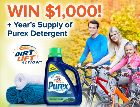 Purex Fall Sweepstakes