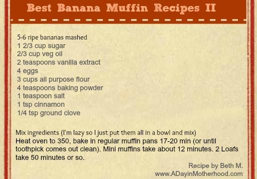 Best Banana Muffin Recipes