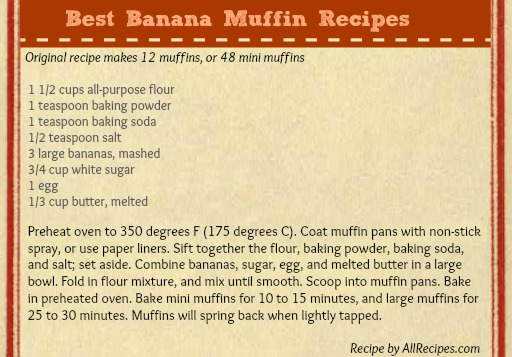 Best Banana Muffins Recipes