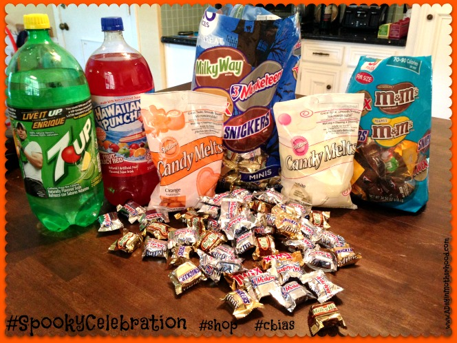 Semi-Homemade Candy & Bloody Punch for Halloween Celebrations #SpookyCelebrations #shop #cbias