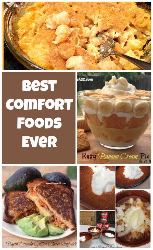 Warm Comfort Food Recipes