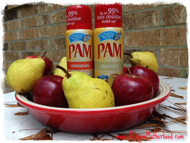Easy Apple and Pear Crisp Recipe  #PAMSmartTips #ad
