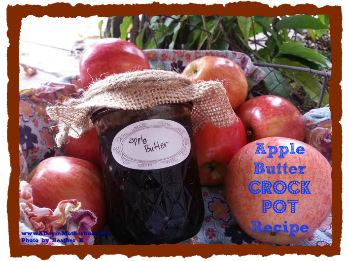 Apple Butter Crock Pot Recipe