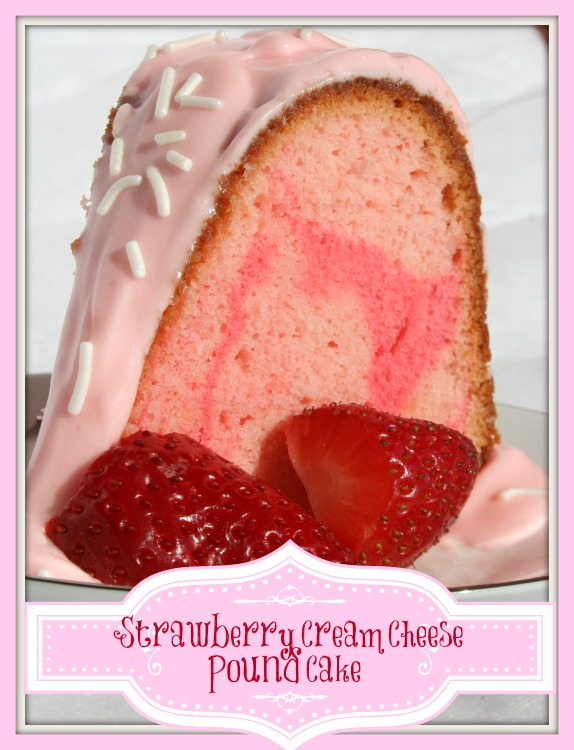 Strawberry Pound Cake Using Cake Mix