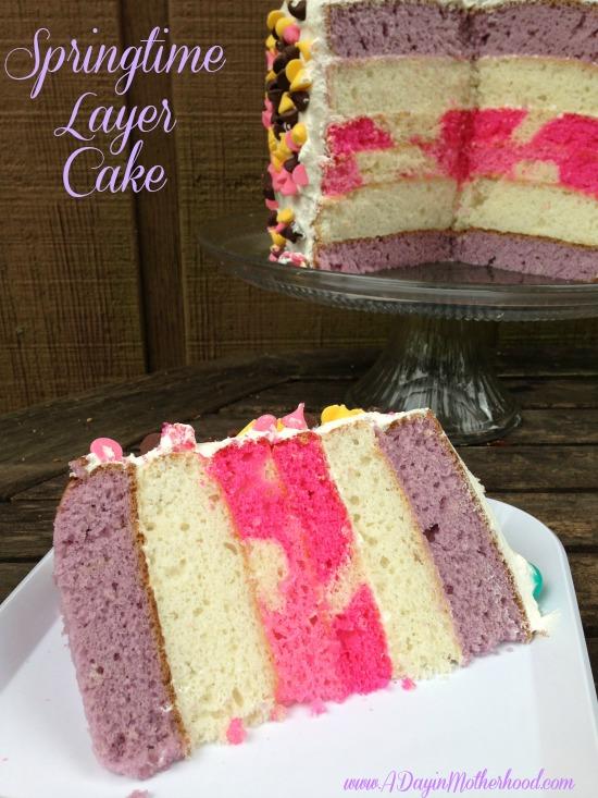 Springtime Layer Cake