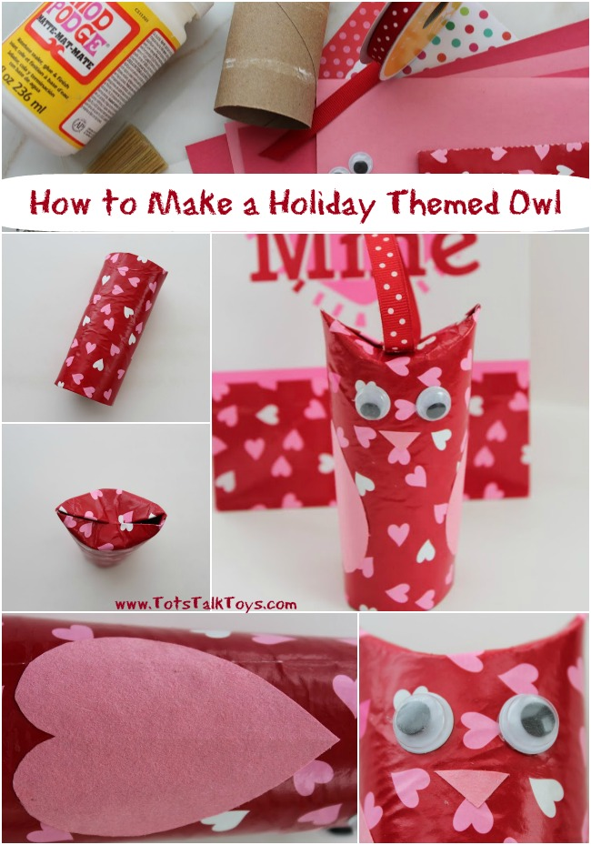 How to Make a Holiday Themed Owl