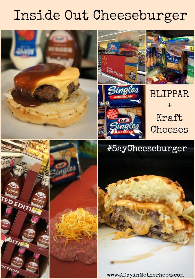 Inside Out Cheeseburger and Blippar App #SayCheeseburger #shop #cbias