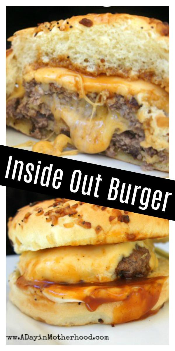 Inside Out Cheeseburger Pinterest