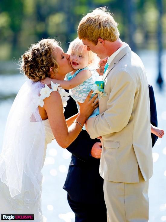 Anna Shannon of Honey Boo Boo wears Light in the Box Wedding Dress