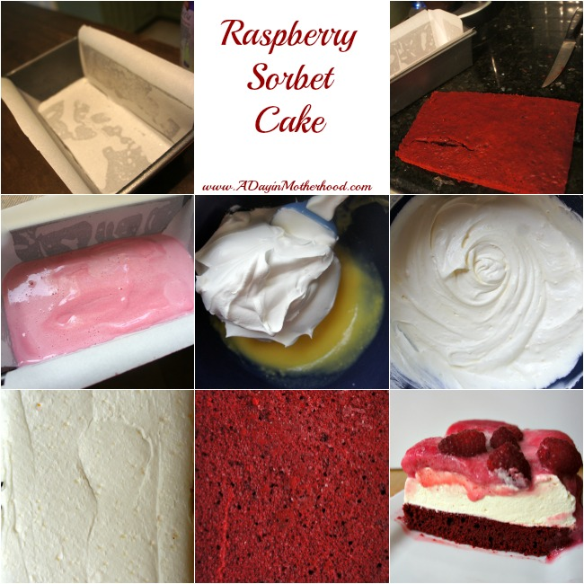 Raspberry Sorbet Cake #AddCoolWhip #shop #CollectiveBias
