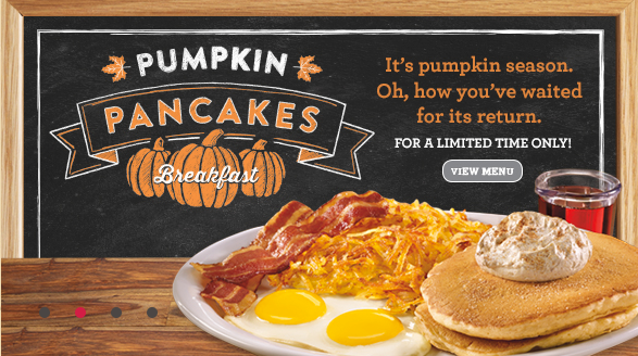 Get Your Pumpkin Fix at Denny's with 'SEASON'S FLAVORITES' #DennysDiners