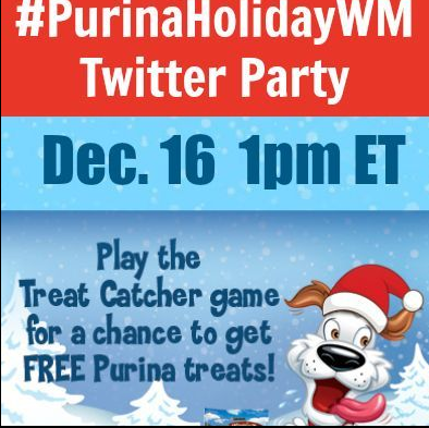 WIN $250 in Prizes at #PurinaHolidayWM Twitter Party Dec. 16 1pm ET