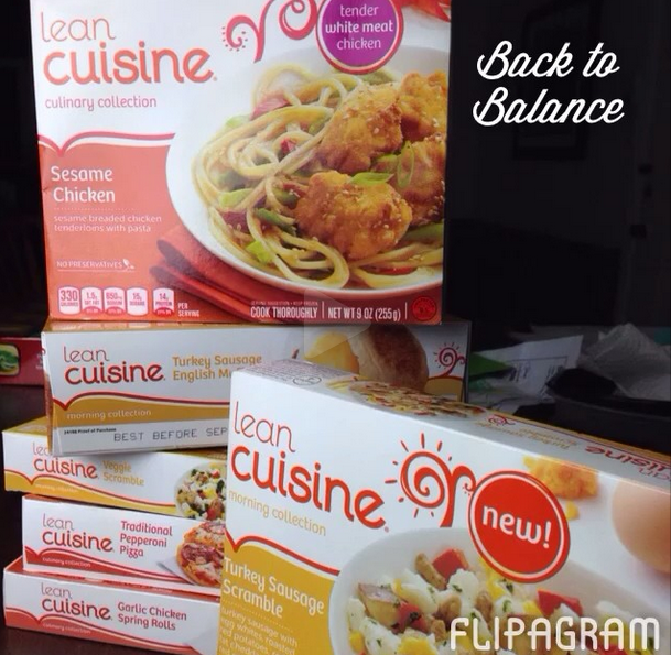 Adding Balance Back to My Diet with LEAN CUISINE® and a Fizzy Breakfast Fruit Mocktail #BacktoBalance #ad