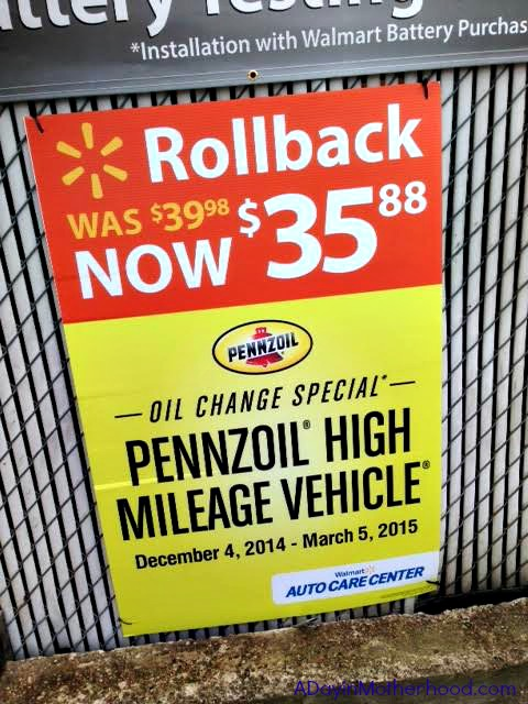 Oil Change At Walmart >> I Finally Got An Oil Change Thanks To Pennzoil And Walmart