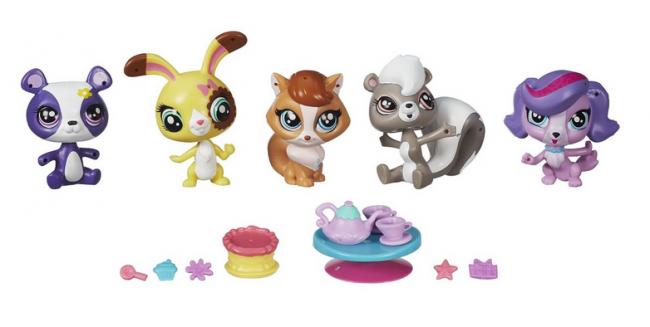 Littlest Pet Shop Toys Cats Paw Prints