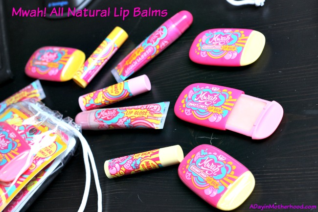 Mwah Lip Balms and Glosses are Awesome Review & 2 Winner Giveaway