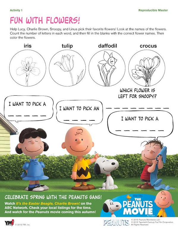 WIN a Peanuts Easter Prize Pack + FREE Peanuts Easter Printable ...