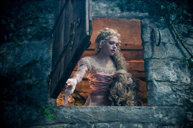 Into the Woods on Blu-Ray DVD is Here