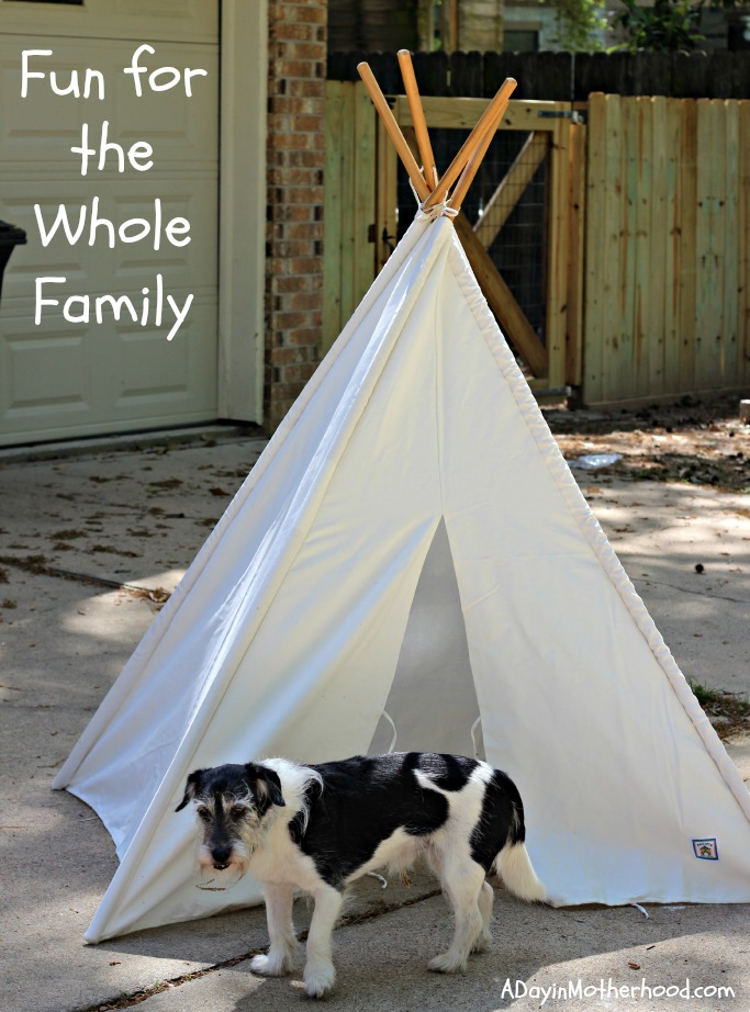 Encourage Imagination with a Pacific Play Tents Canvas Teepee u0026 Enter to WIN a $50 Gift Card & Encourage Imagination with a Pacific Play Tents Canvas Teepee ...