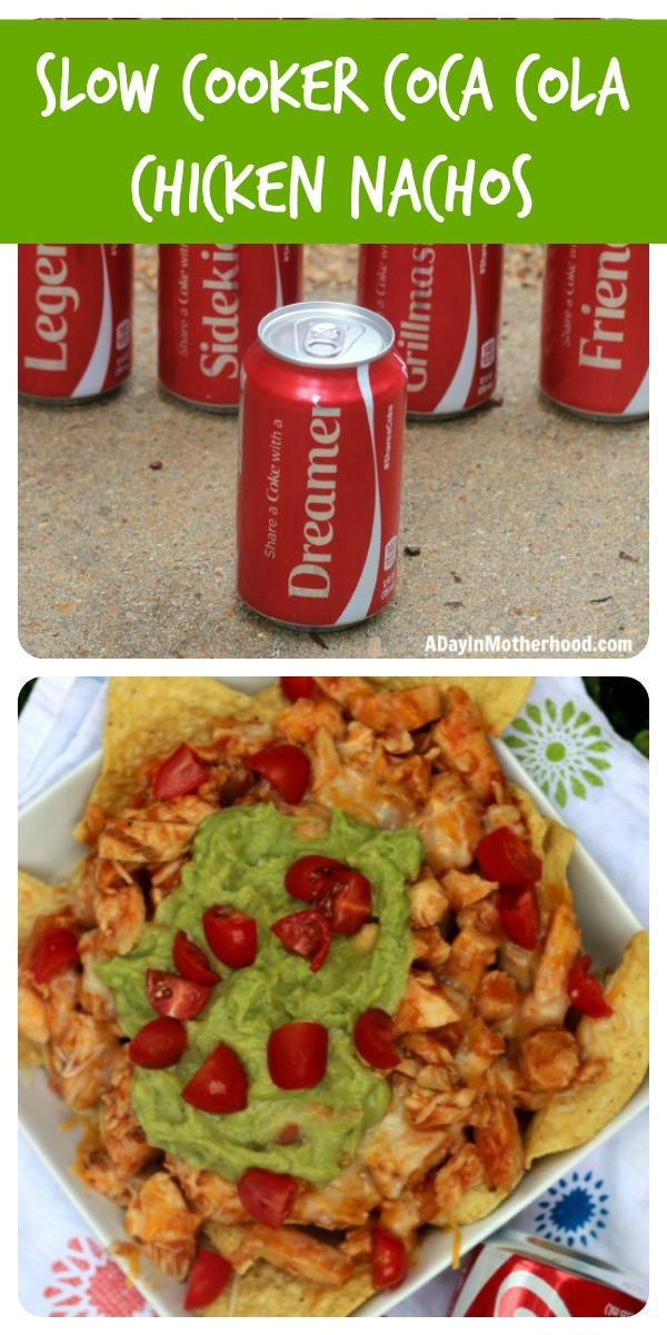 slow cooker coca cola chicken nachos pinterest