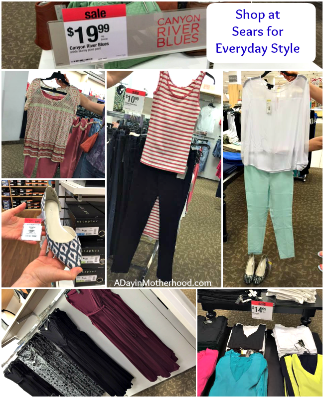 Update Your Mom Style With Spring Fashion from Sears & WIN a $50 Sears Gift Card #MoreForMom #searsStyle @Sears