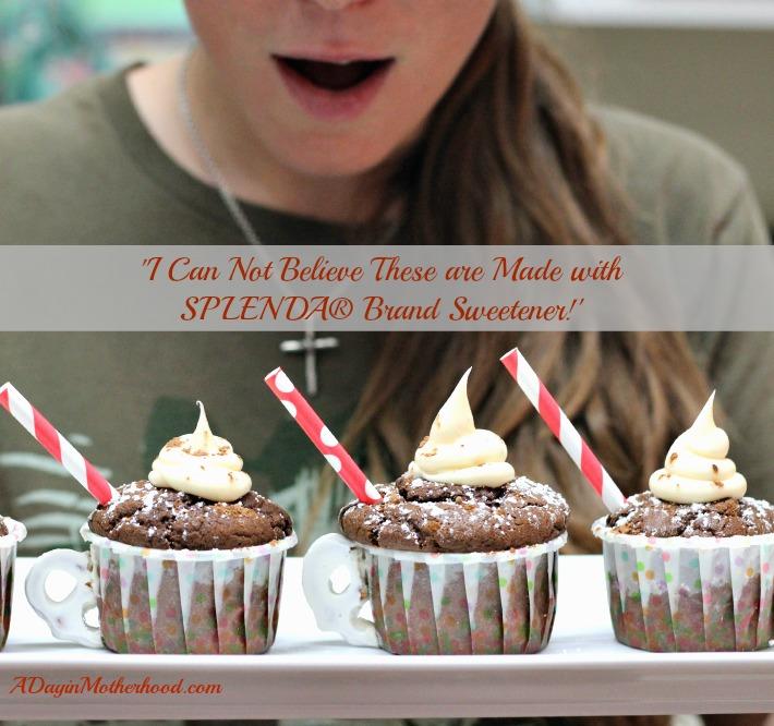 Hot Cocoa Cupcakes Recipe #SweetSwaps #IC #ad