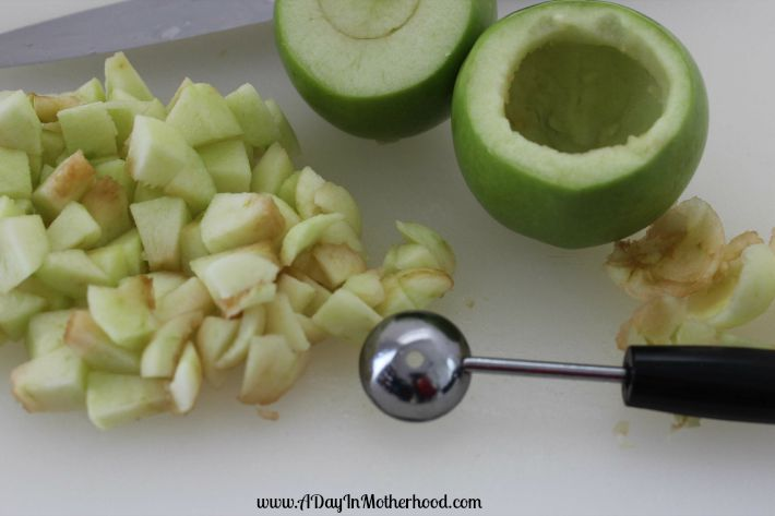 Lattice Baked Apples