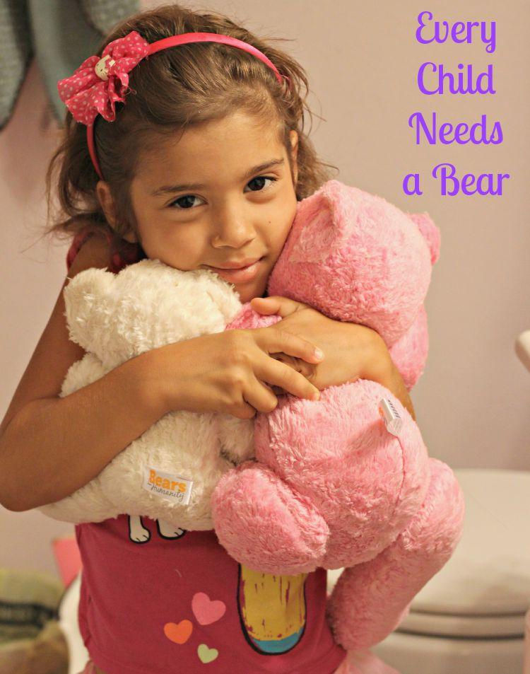Buy a Teddy Bear, Give a Teddy Bear Automatically with Bears for Humanity + WIN a Bear of Your Choice