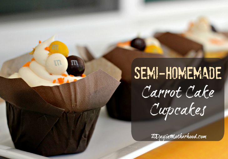 How to Make a Semi-Homemade Candy Jar and Semi-Homemade Carrot Cake Cupcakes + Enter to WIN!! #BakeInTheFun ad
