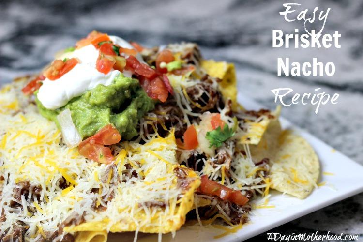 Easy Brisket Nachos Recipe #GameTimeClean ad @Walmart