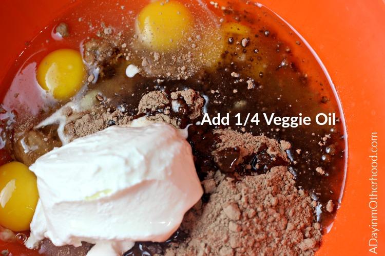 Java Chocolate Bundt Cake with Mocha Cream #FoundMyDelight ad