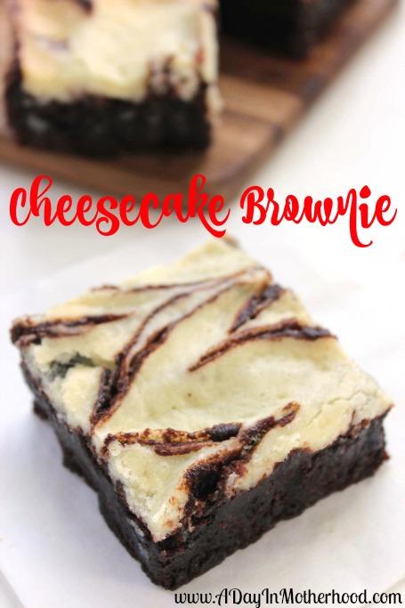 Cheesecake Brownies