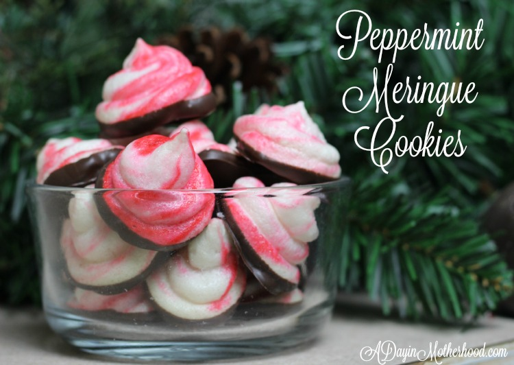 'Tis the Season with Peppermint Meringue Cookies #SplendaHoliday ad