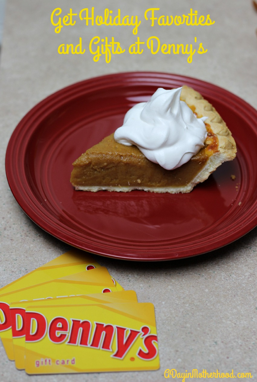 Get Your Favorite Holiday Foods & The Perfect Gift for Everyone at Denny's #DennysDiners ad