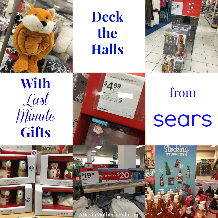 Get those Last Minute Gifts at Sears and WIN a $50 Sears Gift Card #BringTheSleigh ad